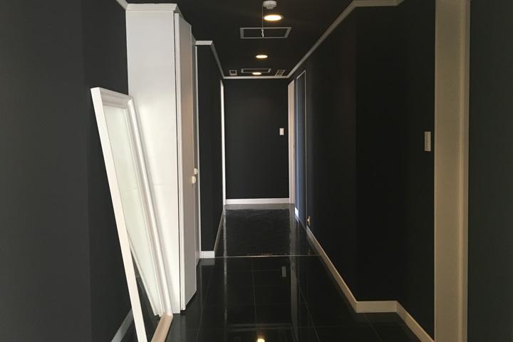 シエルの新しい廊下正面