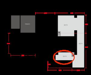 アジト-平面図