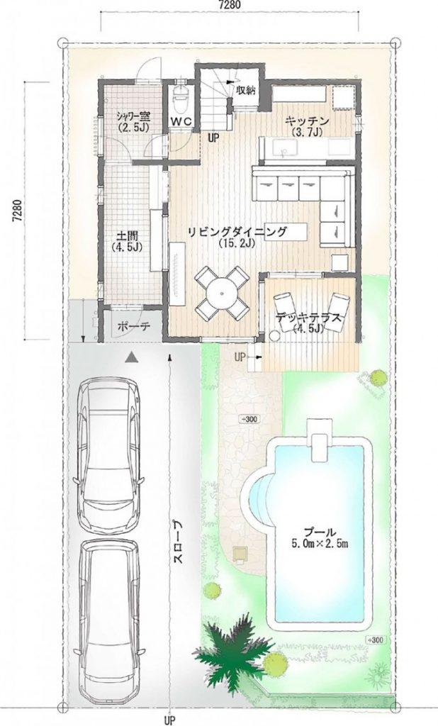 NALU-平面図1階